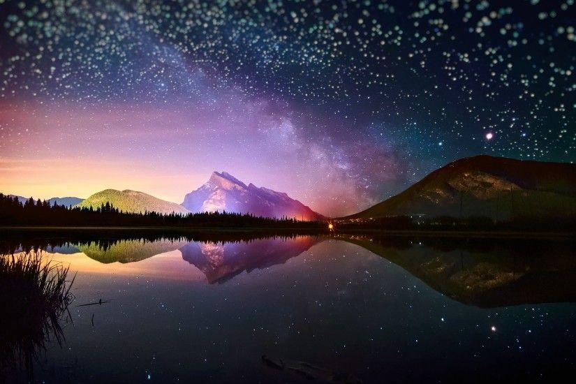 Starry Sky Hd Wallpapers Backgrounds Wallpaper Abyss With Night Images For  Laptop