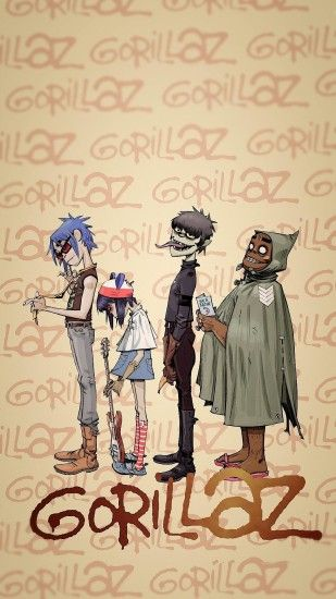 Fan ArtMade a Gorillaz phone wallpaper ...