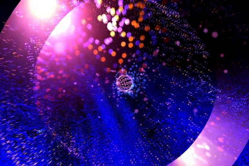 60fps VJ Disco Ball Yellow Shine Motion Background Effect Animation -  YouTube