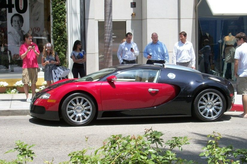 bugatti veyron images in L.A HD wallpaper and background photos