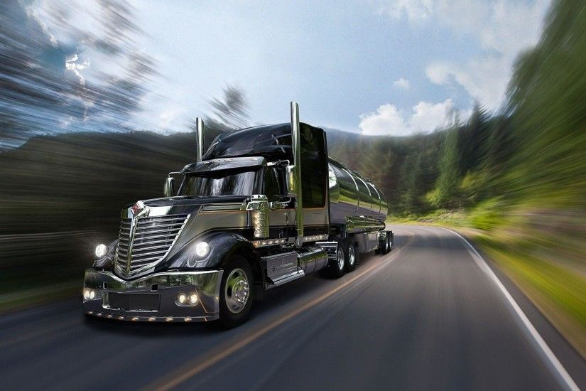 semi truck wallpaper
