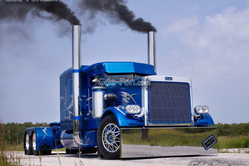 Custom Big Rig Trucks on Nice Funny Wallpapers