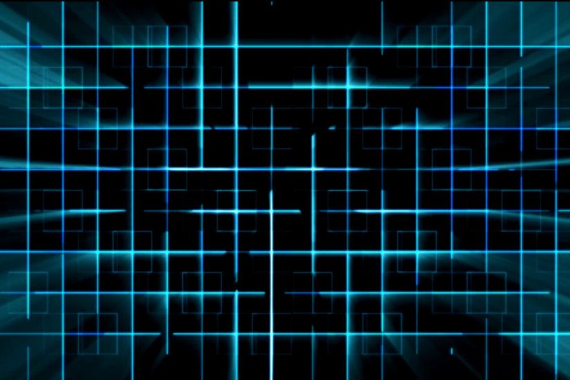 Tron Blue A.I. Cyber Grid with Light Rays Animation Background Backdrop  Motion Background - VideoBlocks