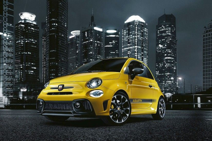 2017 Fiat Abarth 595 Competizione V1 Hd Car Wallpaper