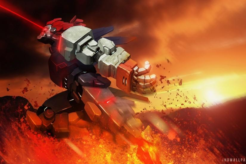 Mecha Akuma HD Wallpaper - iHD Wallpapers