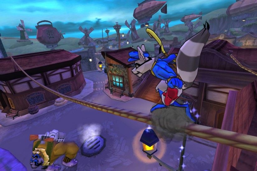 Sly 3: Honor Among Thieves (PlayStation 2, 2005)