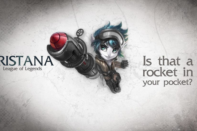 ... League of Legends Wallpaper - Tristana by deSess