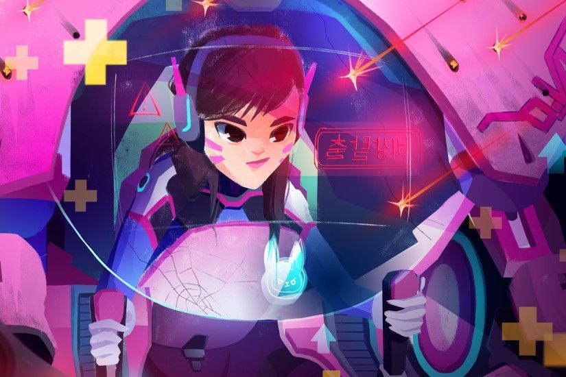 Games / DVa Wallpaper