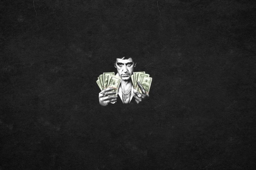 SCARFACE crime drama movie film poster money drugs wallpaper