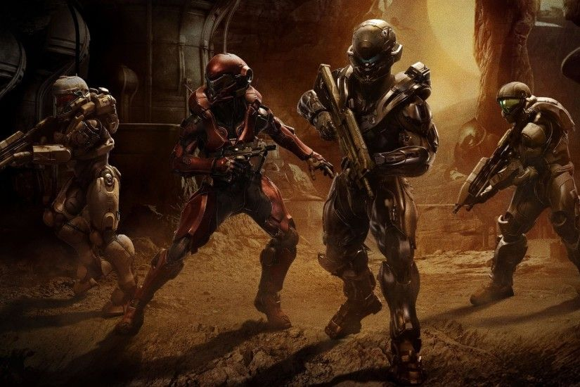 Halo 5 Guardians Team Locke in this HD wallpaper listed in HD and wide  sizes below