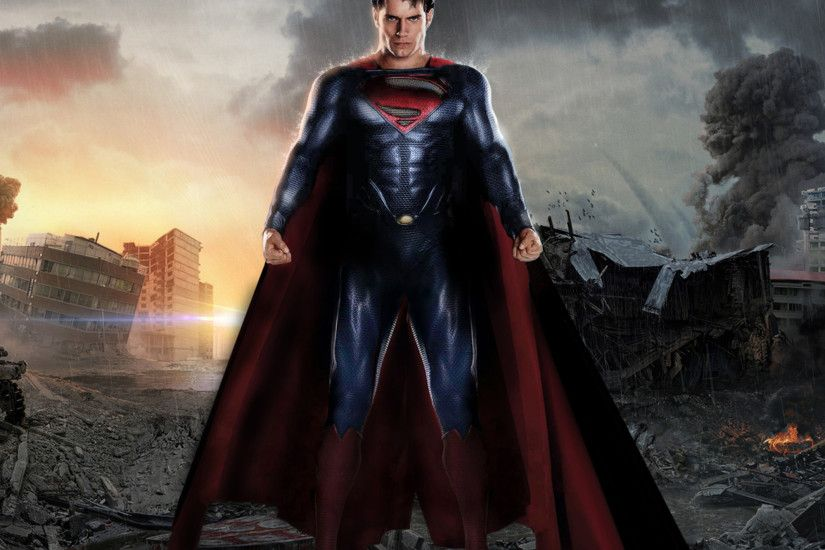 Movie Man Of Steel Superman Henry Cavill. Wallpaper 23594