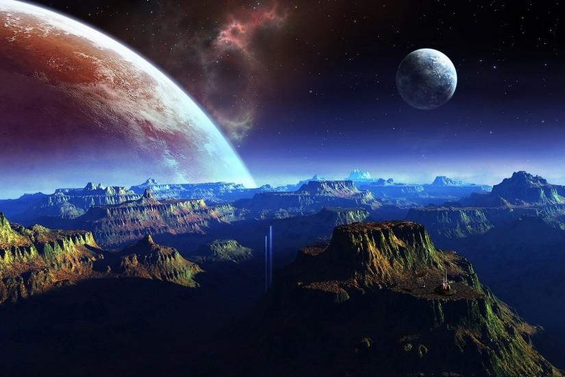 beautiful planets wallpaper 1920x1080 tablet