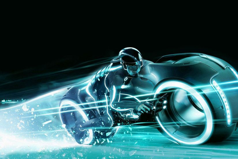 tron legacy 3D Motorcycle Wallpaper. hd 3d bike wallpaper