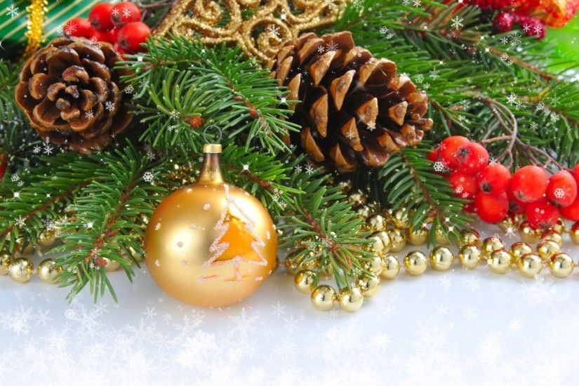 ball gold ball branch cone beads christmas tree toys christmas christmas  holly snowflakes new year new
