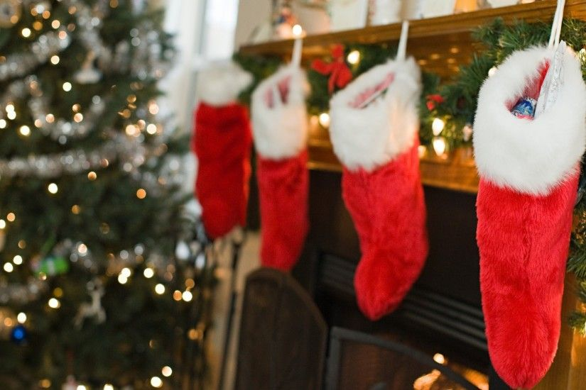 Christmas Fireplace With Stockings 2016 Christmas Fireplace With Stockings