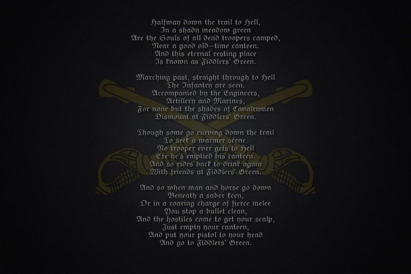 Fiddler's Green Poem military warriors soldier marines wallpaper |  2560x1600 | 31797 | WallpaperUP