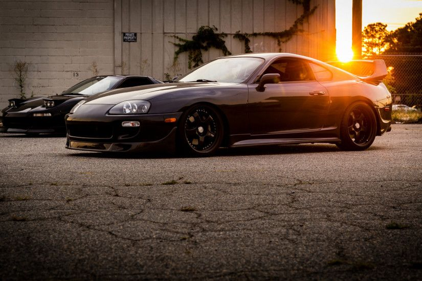 1920x1080 Wallpaper toyota, supra, side view, light