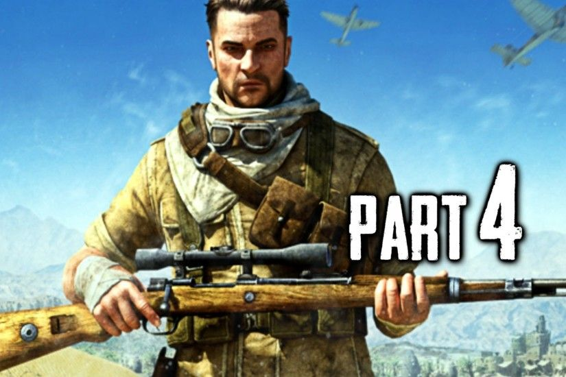 Sniper Elite 3 Gameplay Walkthrough Part 4 - Panzer Tank (PS4) - YouTube