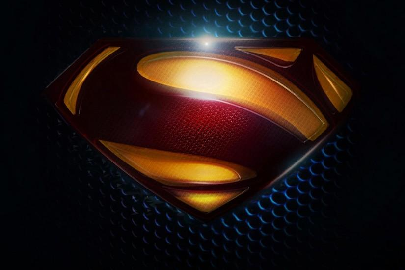Dark Superman S Logo Wallpaper 1920×1080 fond ecran hd