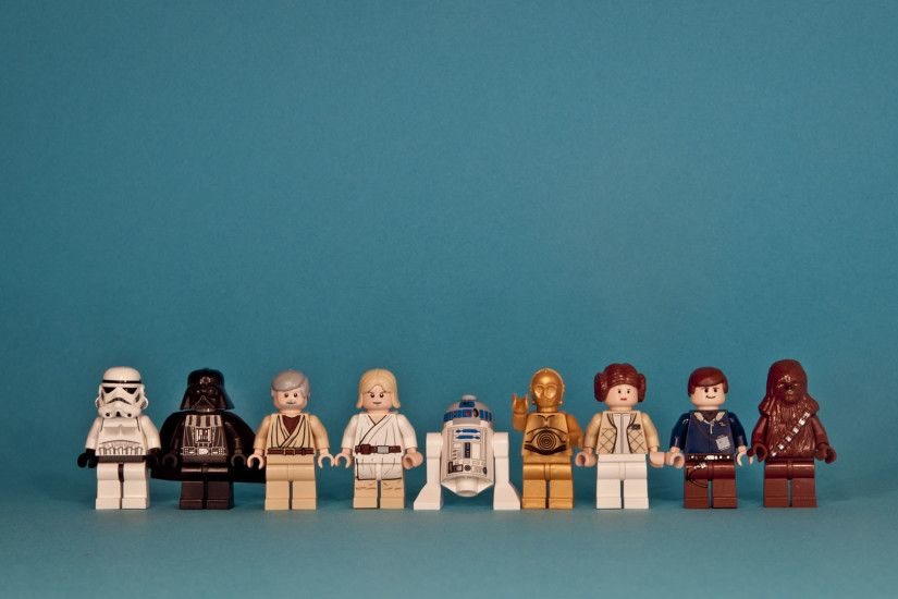 Star Wars Lego Characters HD Wallpaper