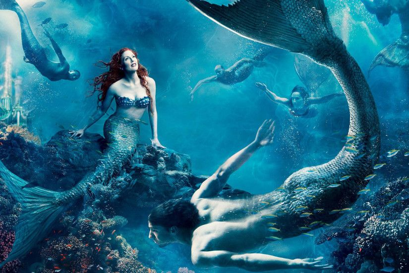Julianne moore · Little Mermaid ...