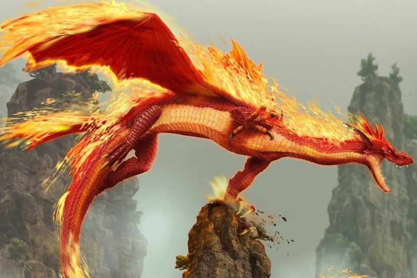 1920x1080 Red Dragon. How to set wallpaper on your desktop? Click the  download link from above and set the wallpaper on the desktop from your OS.
