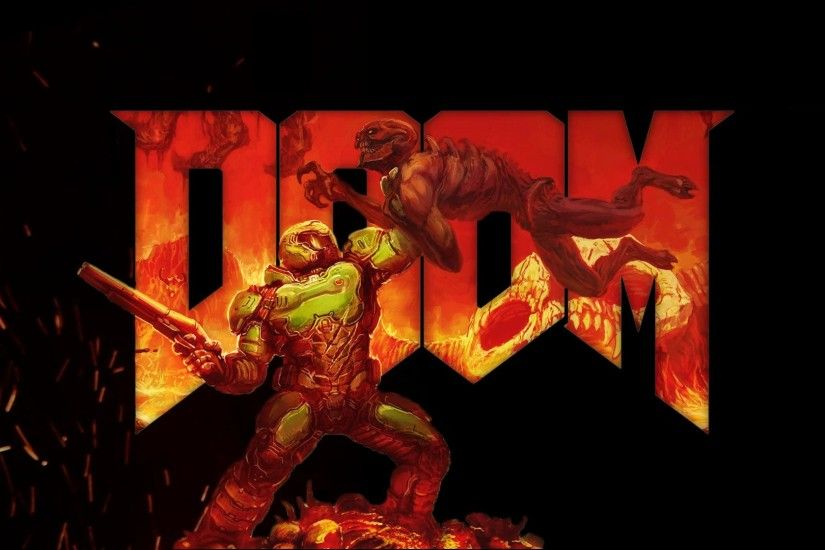 ... DOOM Wallpaper ...