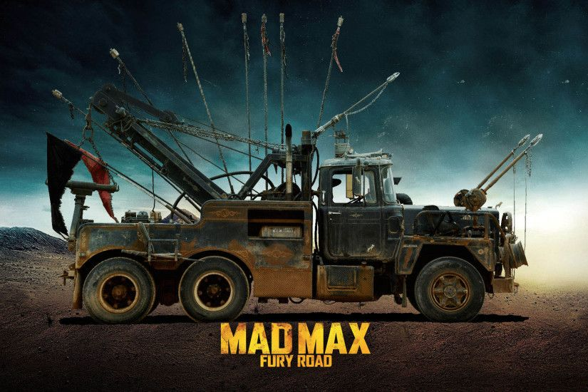 Mack based on tow truck, Side View - Mad Max Fury Road 1920x1200 wallpaper