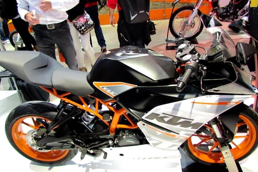 2014 KTM RC 390 Walkaround - 2013 EICMA Milan Motorcycle Exhibition -  YouTube