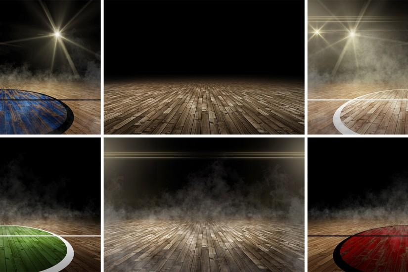 free download basketball court background 2520x1120 for pc