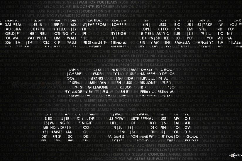 Trance Music Saves My Soul HD and Wide Wallpapers