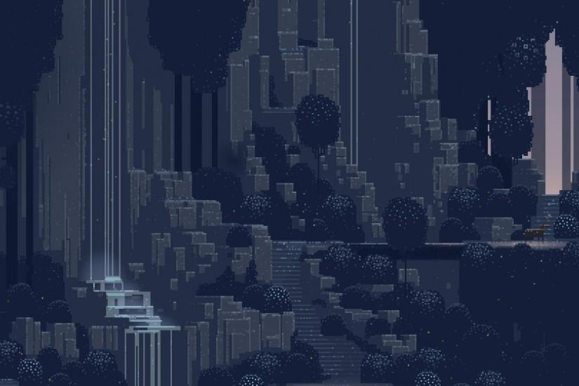 large pixel art wallpaper 1920x1080 hd for mobile