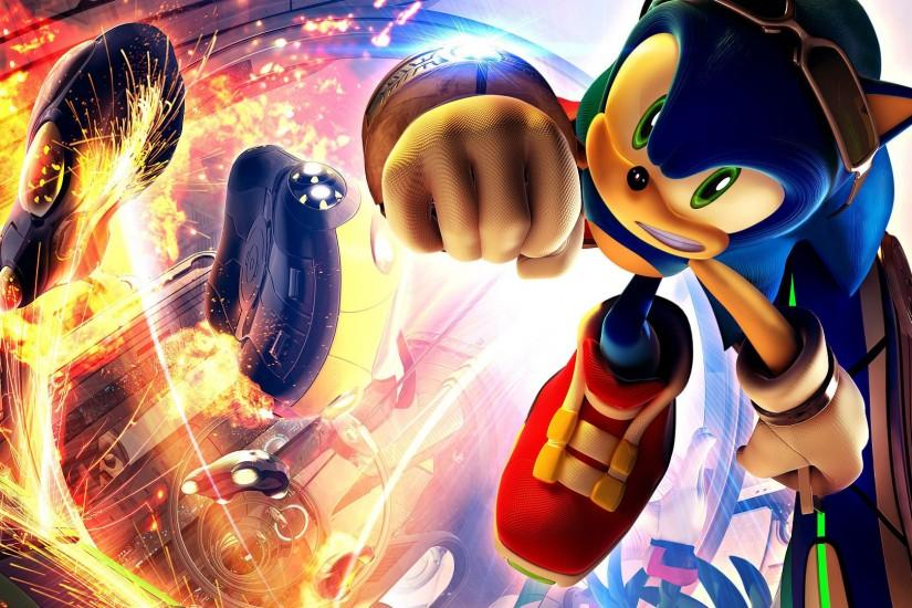 Sonic Riders 1080p Game Wallpapers | HD Wallpapers
