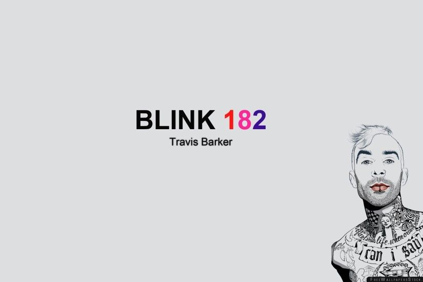 Download Free Wallpaper Blink Travis Barker Member Tattoo Picture