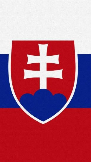 Slovakia flag iphone 6 mobile wallpapers free