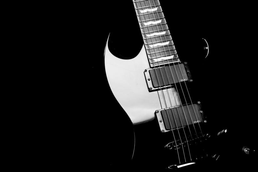Amazing Black Guitar Wallpaper Full HD Wallpaper with 1920x1200 .