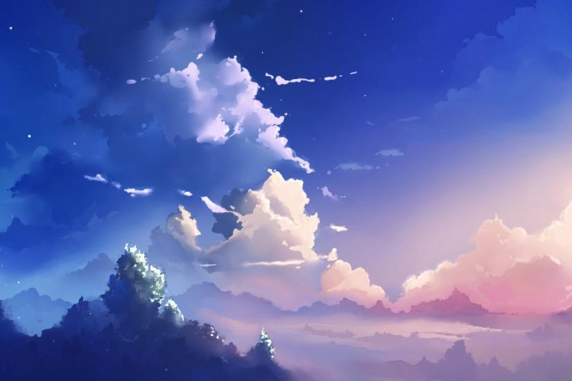 anime scenery wallpaper 1920x1080 hd 1080p