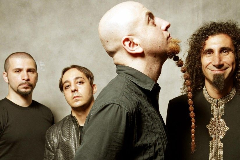 1920x1080 Wallpaper system of a down, beard, haircut, bald, band