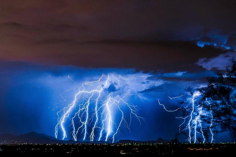 beautiful lightning wallpaper 3840x2160 for windows