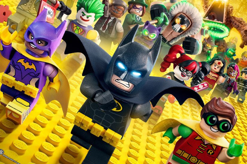 The Lego Batman Movie Animation