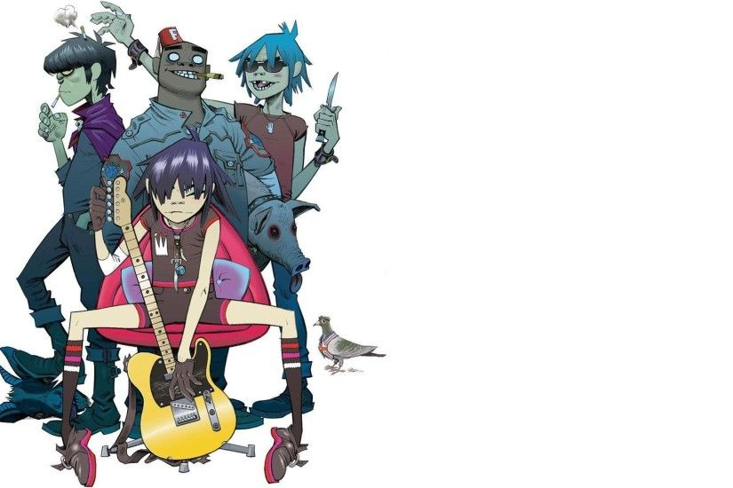 Most Downloaded Gorillaz Wallpapers - Full HD wallpaper search