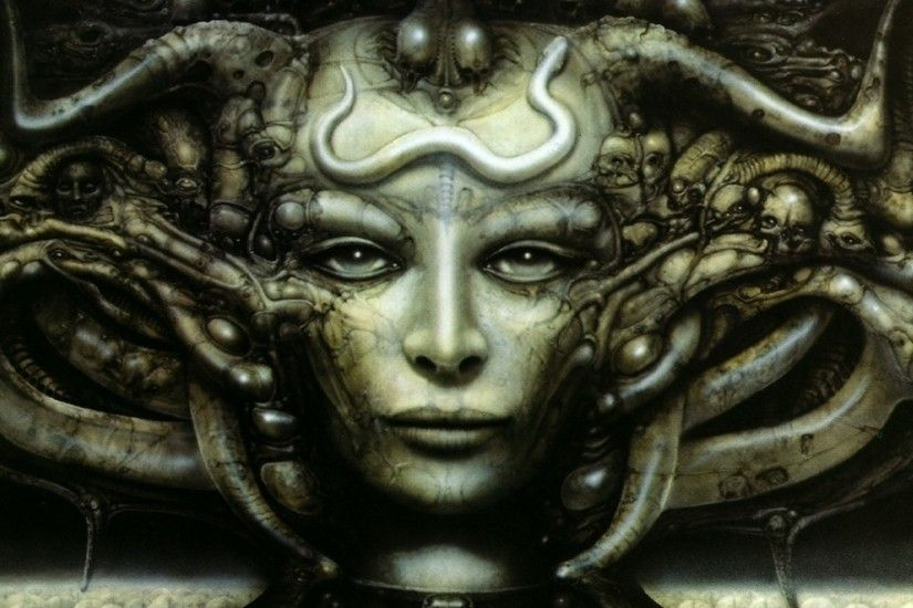 hr giger necronomicon artwork 1680x1050 wallpaper Art HD Wallpaper