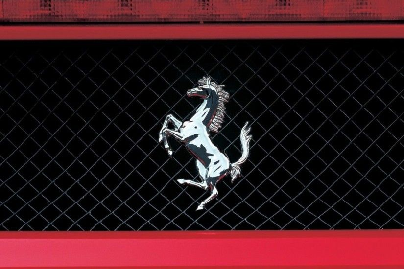 Ferrari, Logo, Horse Wallpaper HD