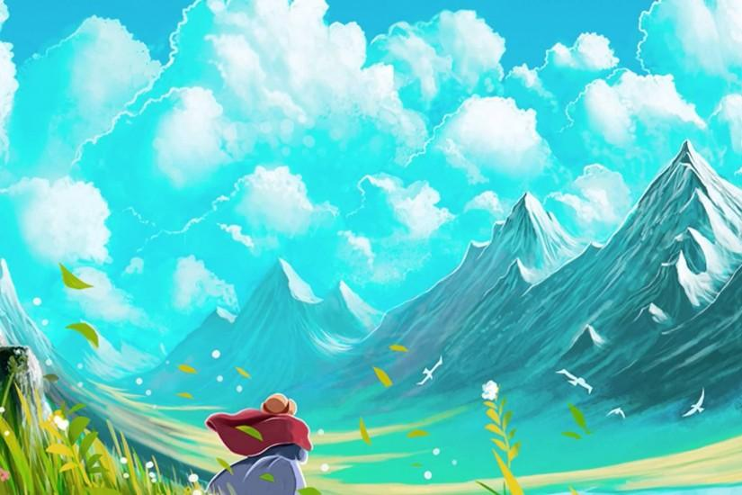 howls moving castle wallpaper 1920x1080 for retina