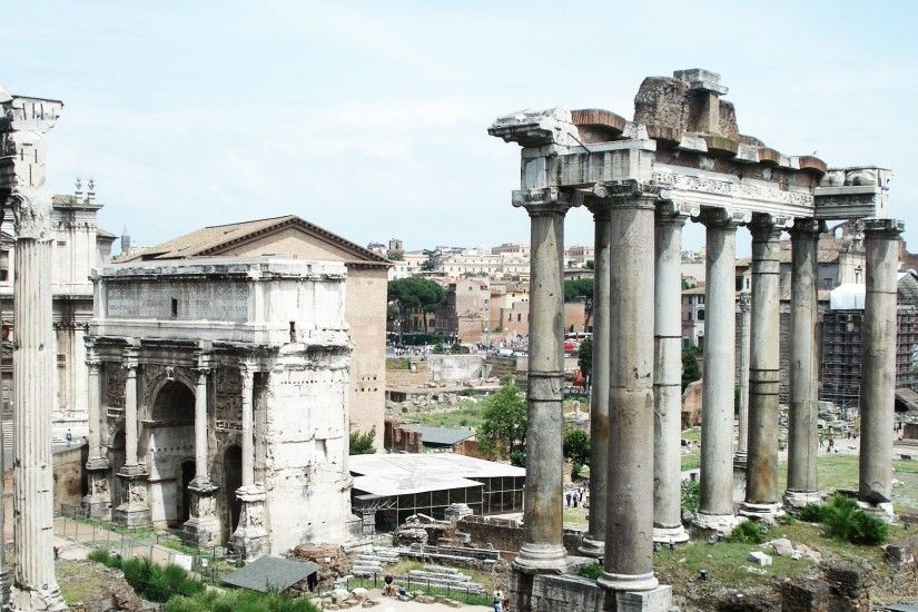 Roman Forum High Definition Wallpaper