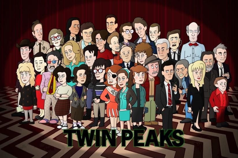 Twin Peaks Group by neoalxtopi on DeviantArt. I have Gordon Cole as my  phone's wallpaper and I regret nothing.