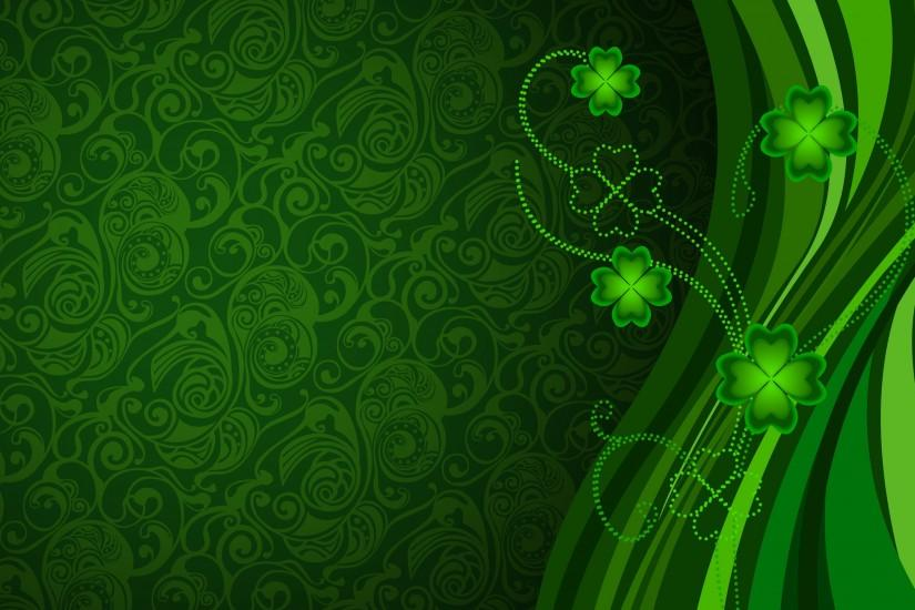 Clovers wallpaper - Holiday wallpapers - #2149
