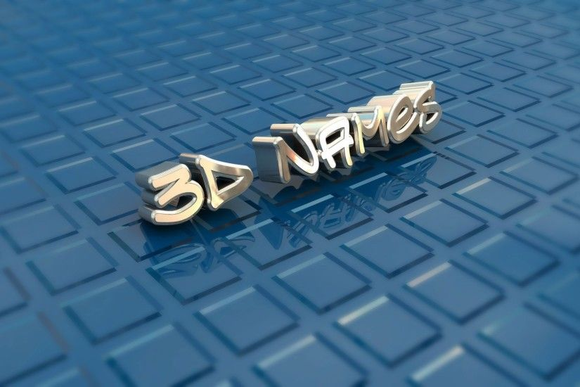 2560x1600 3D Name Wallpapers - Get Your Name in 3D For Free