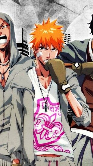 1440x2560 Wallpaper bleach boxing, guys, posture