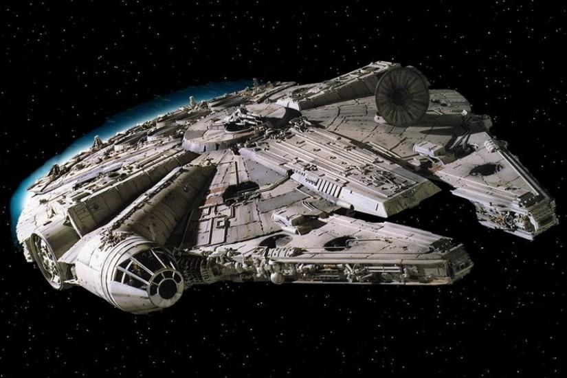 Images For > Millenium Falcon Wallpaper